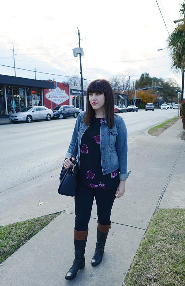 Shop and Twirl | Dark Floral 6