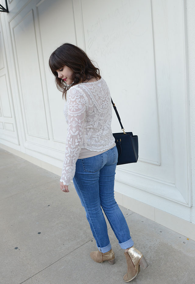 Shop and Twirl | White Lace 4