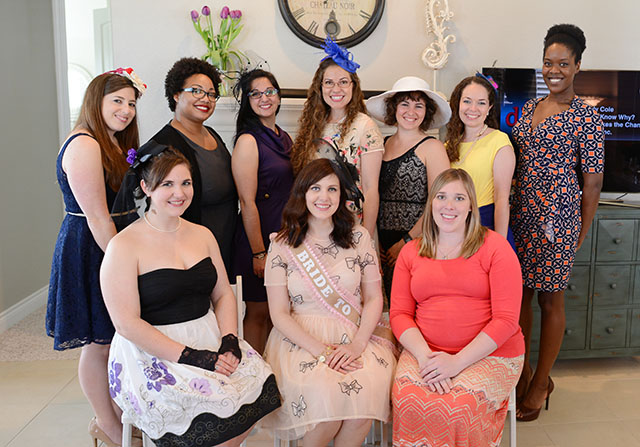 Shop and Twirl | Bridal Tea Party 9