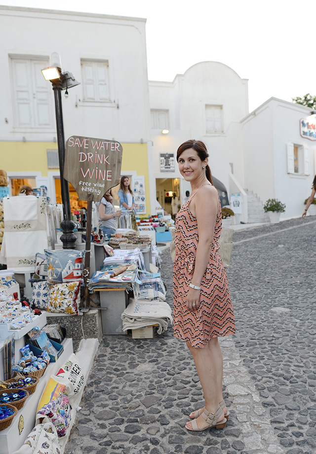 Shop and Twirl | Snapshots from Santorini 2