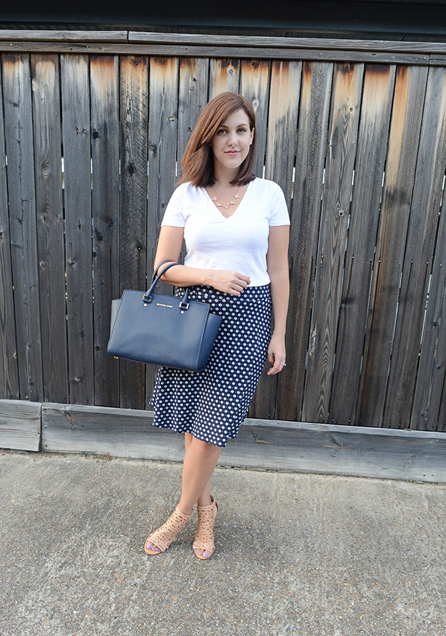 Shop and Twirl | T-Shirt & Work Skirt 2