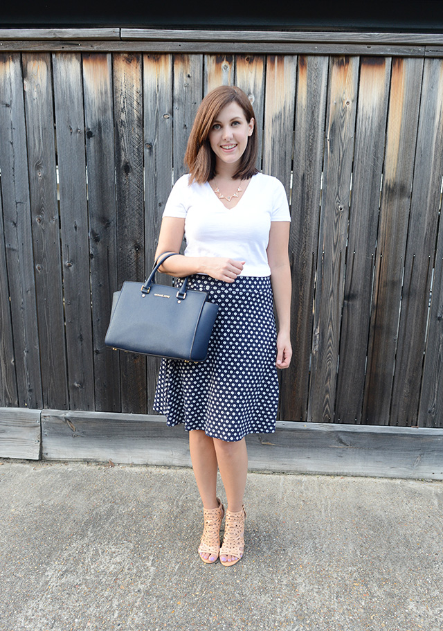 Shop and Twirl | T-Shirt & Work Skirt 3