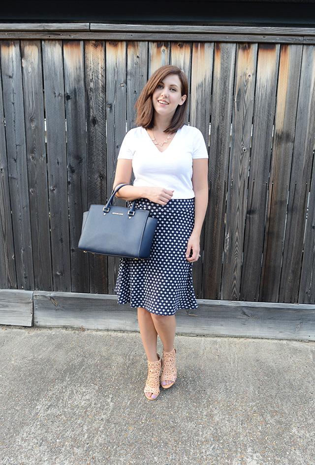 Shop and Twirl | T-Shirt & Work Skirt 4