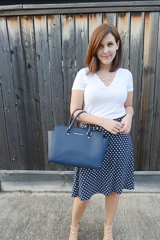Shop and Twirl | T-Shirt & Work Skirt 5