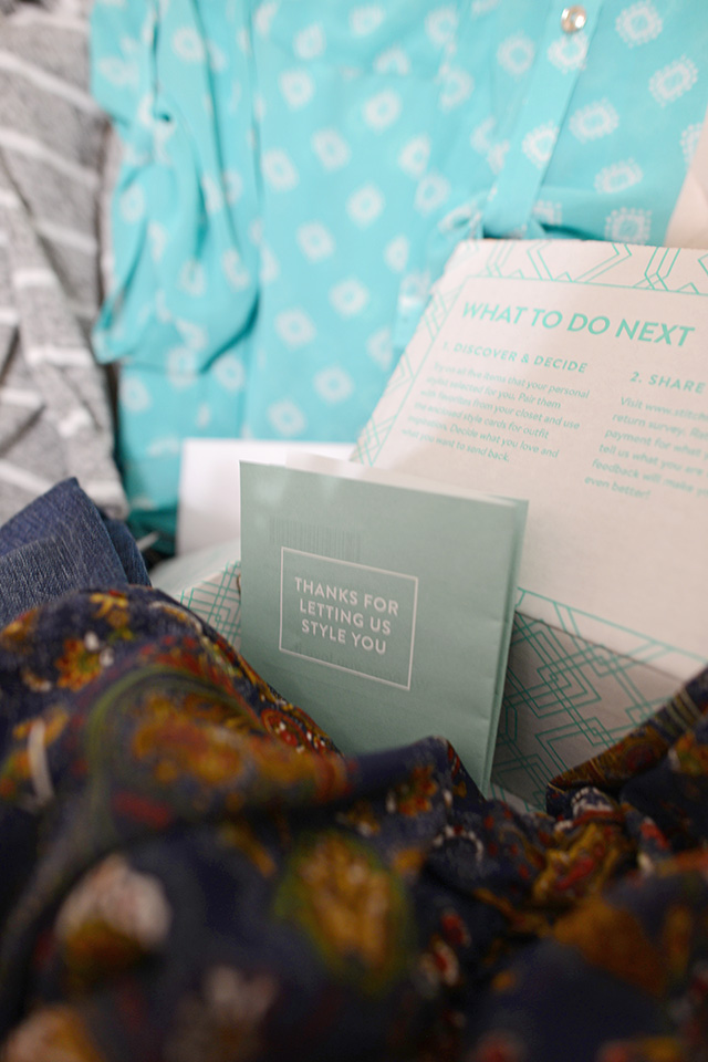 Shop and Twirl | Stitch Fix Review